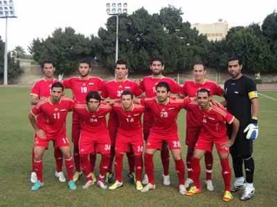 غدا الاختبار الأول لمنتخب سورية الأولمبي لكرة القدم في تصفيات كأس آسيا