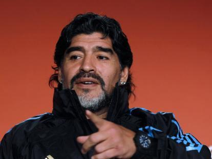 """مارادونا: سأصوت بـ """"لا"""" لتنظيم قطر لمونديال 2022"""