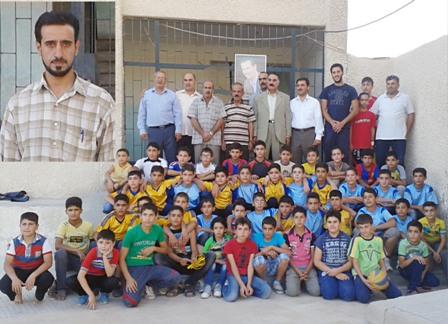 أنشطة عدة ومشاركات مميزة لنادي القطيفة بريف دمشق