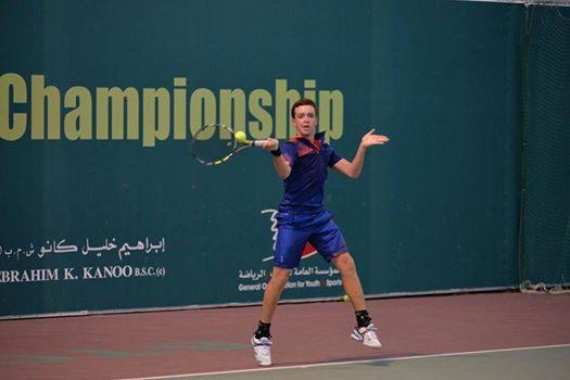 السوري كريم العلاف يحرز المركز الثاني في بطولة البحرين الدولية السادسة ITF لناشئي التنس