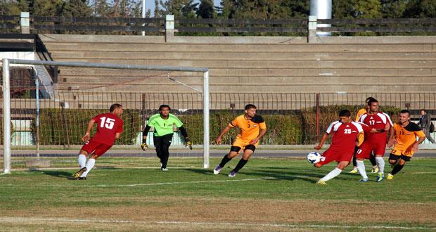 الوحدة يفوز على النضال بافتتاح منافسات المجموعة الثانية بدوري الدرجة الأولى لكرة القدم