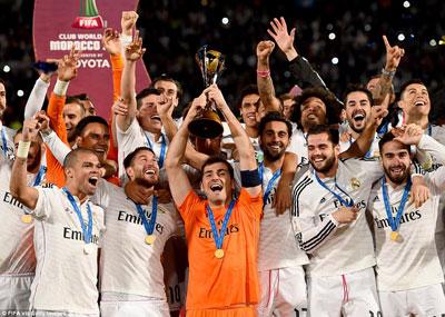 لقب رابع في عام 2014.. ريال مدريد بطلاً لكأس العالم للأندية في المغرب وراموس أفضل لاعب