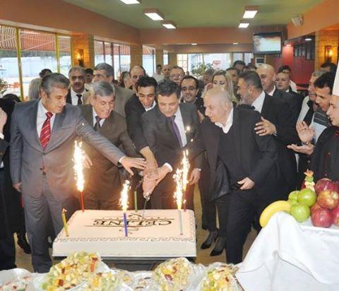 حفل استقبال بمناسبة إعادة تجديد وافتتاح مقصف ومطعم سيرين في مسبح الجلاء بدمشق