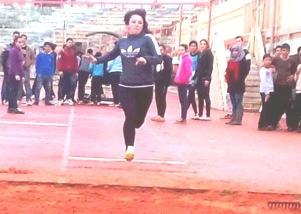 100 لاعب ولاعبة تنافسوا في بطولة حماة بألعاب القوى