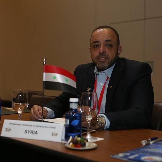 انتخاب منار هيكل رئيس الاتحاد السوري لبناء الأجسام نائباً لرئيس الاتحاد العربي