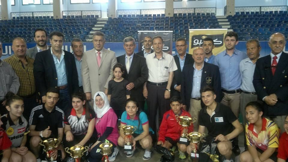 عجاج يفوز بلقب بطولة حماة للأشبال بكرة الطاولة