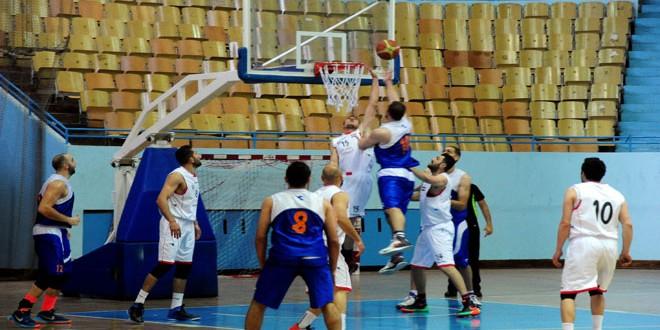 تأهل الوحدة والجيش والاتحاد والحرية والكرامة إلى ربع نهائي كأس الجمهورية للرجال بكرة السلة