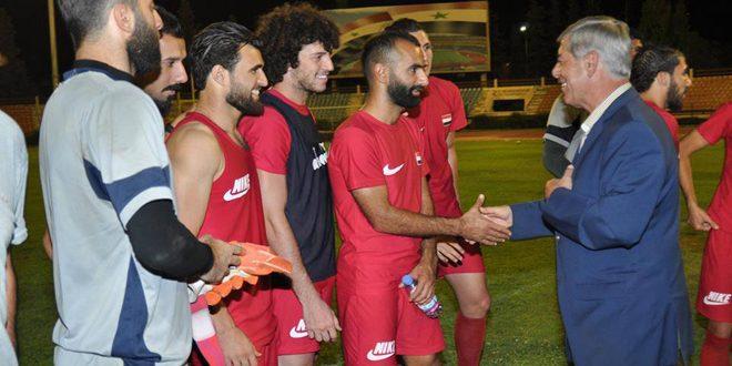 إعلان قائمة منتخب سورية التي ستخوض مباراتي أوزبكستان وكوريا الجنوبية في تصفيات مونديال روسيا