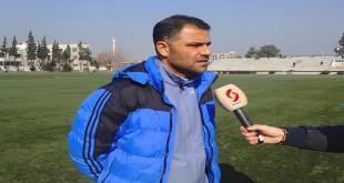 محمد اليوسف مدربا مؤقتا لفريق تشرين لكرة القدم
