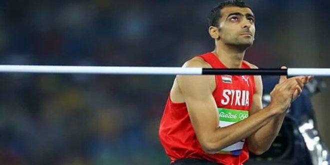 معسكر تدريبي جديد للاعب منتخب سورية لألعاب القوى مجد الدين غزال في اللاذقية