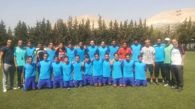 منتخب دمشق للأشبال يتوج بلقب بطولة المحافظات
