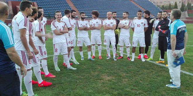 إعلان قائمة منتخب سورية التي ستخوض مباراتي الصين وقطر ضمن تصفيات كأس العالم في روسيا