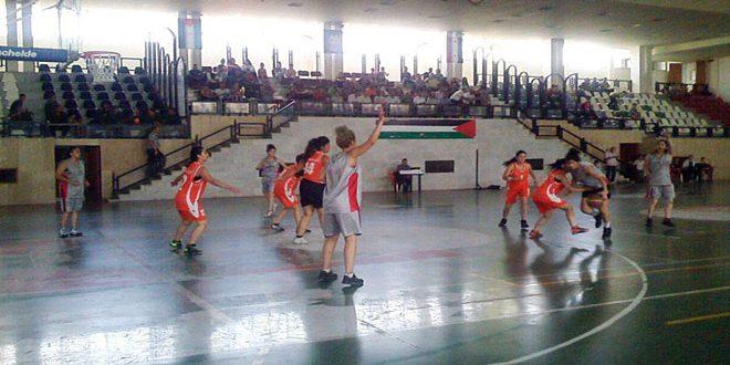 فوز الساحل على تشرين في مسابقة كأس الجمهورية بكرة السلة للسيدات