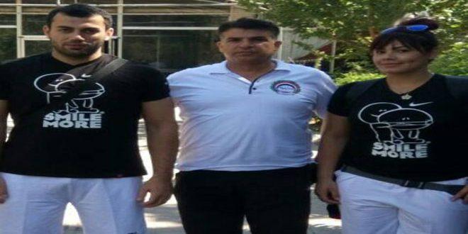 لاعب منتخب سورية مصعب عيشة يحرز المركز الرابع في رمي الكرة الحديدية بدورة الألعاب الآسيوية الشاطئية الخامسة