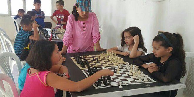 بطولة تنشيطية بالشطرنج للبراعم في نادي عرمان بالسويداء
