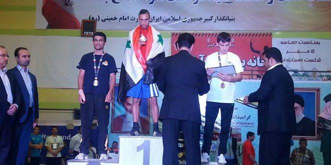 منتخب سورية للملاكمة يحرز 3 ذهبيات وفضية في بطولة إيران الدولية