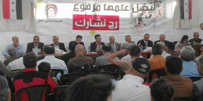 أعضاء نادي العربي بالسويداء: إيجاد ريوع مادية ثابتة لدعم النادي وتوفير التجهيزات المطلوبة
