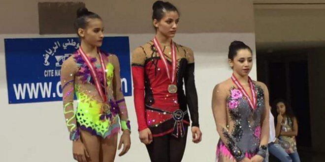 السورية دينا الشيخ علي تحرز المركز الأول ببطولة الجمباز الفني في أوكرانيا