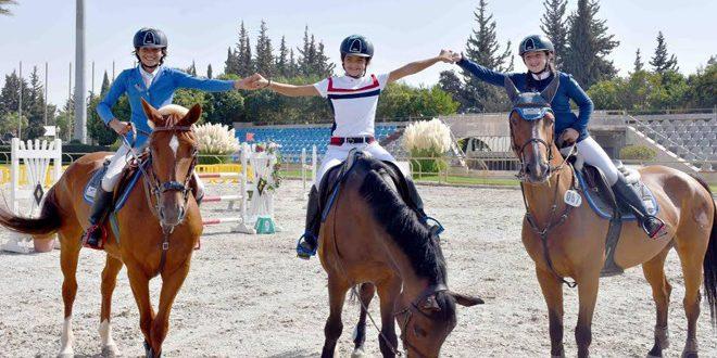 ختام البطولة المؤهلة لبطولة العالم للأطفال بفروسية القفز على الحواجز