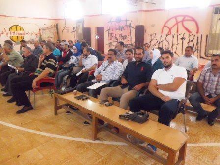 أجواء مميزة في مؤتمر اللجان الفنية لالعاب الكرات في محافظة حلب