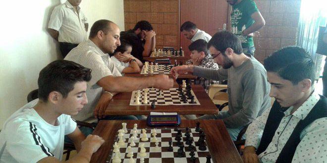 بطولة تنشيطية مفتوحة بالشطرنج في السويداء