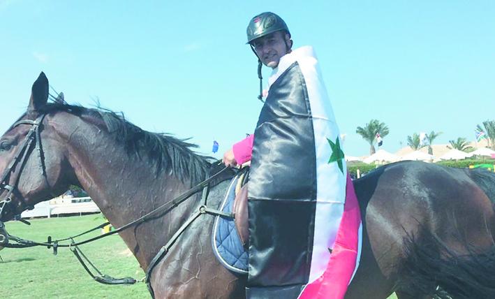 فارسنا الجابري يتوّج بالمركز الأول في بطولة سهل حشيش في مصر