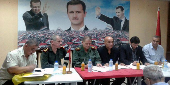 أعضاء المؤتمر السنوي لنادي شرطة اللاذقية يطالبون بتوفير الصالات التدريبية