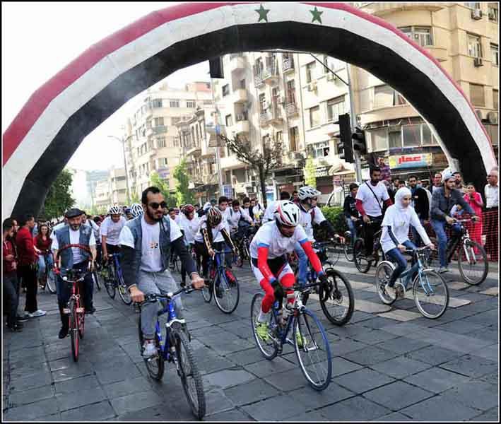 تقييم شامل لمنتخبات حماة الانثوية برياضة الدراجات