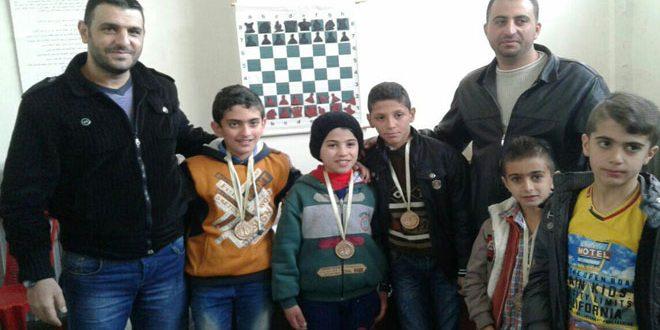 ختام منافسات بطولة مدارس السويداء للشطرنج