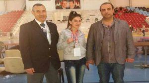 سارة قزما بطلة الجمهورية في الكاراتيه: أطمح لمواصلة تحقيق الألقاب محليا وخارجيا
