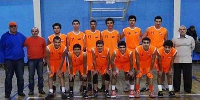 الوحدة يحرز لقب بطولة كأس الاتحاد بكرة السلة للناشئين