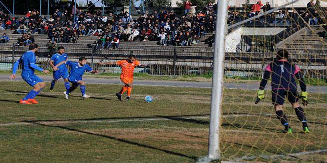 حطين يستعيد صدارة الدوري الممتاز لكرة القدم بفوزه على الوحدة 1-0