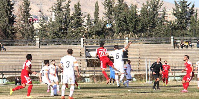 الجيش يحسم قمة مباريات الجولة الثالثة من الدوري الممتاز لكرة القدم بالفوز على الوحدة