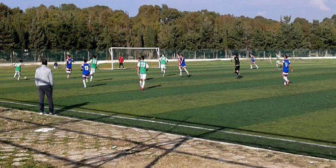 التضامن يفوز على بانياس في الدوري التصنيفي للدرجة الثانية بكرة القدم