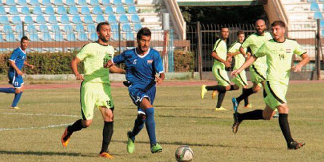 التضامن يفوز على المخرم وقمحانة على بانياس في الدوري التصنيفي لأندية الدرجة الثانية بكرة القدم