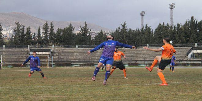 فوز الوحدة على جبلة وتعادل الجيش مع حطين في مباريات مؤءجلة من الدوري الممتاز لكرة القدم