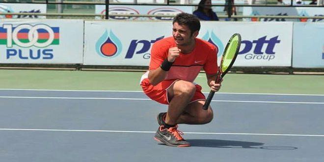 لاعب منتخب سورية حازم نو يبلغ نصف نهائي بطولة الهند الدولية لكرة المضرب