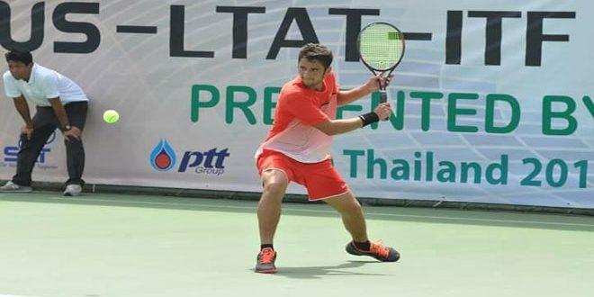 السوري حازم نو ولاعب من الصين تايبيه يتوجان بلقب منافسات الزوجي في بطولة الهند الدولية لكرة المضرب
