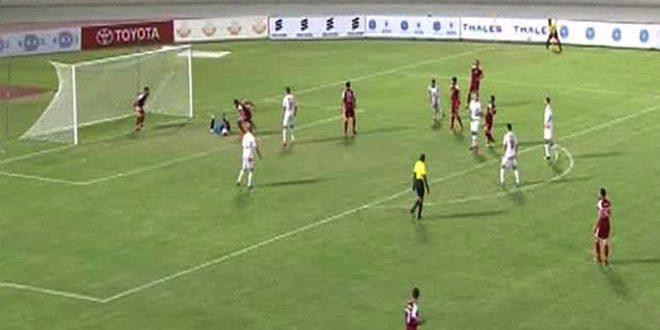 منتخب سورية العسكري لكرة القدم يبلغ الدور ربع النهائي من بطولة العالم العسكرية المقامة في سلطنة عمان