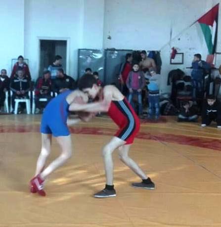 مصارعة الوثبة تحرز لقب بطولة حمص
