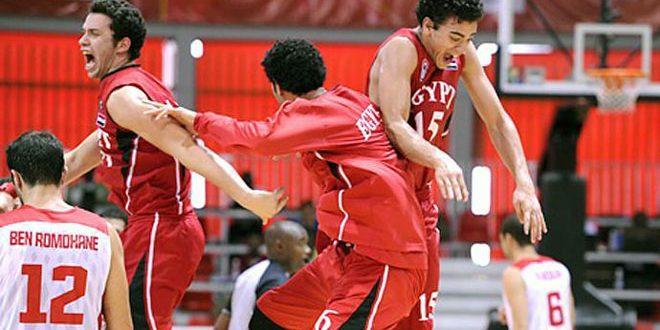 منتخب مصر يتوج بالبطولة العربية لكرة السلة