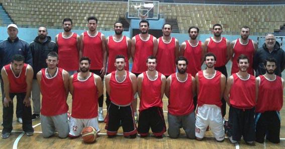 منتخبنا الوطني بكرة السلة يستعد لغرب آسيا عبر بيروت والمعدنلي يقود المنتخب