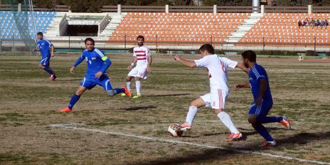 تشرين يعزز الصدارة والشرطة ينتزع الوصافة في الدوري الممتاز لكرة القدم