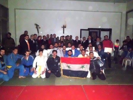 اختتام بطولة جودو حلب للرجال و الشباب