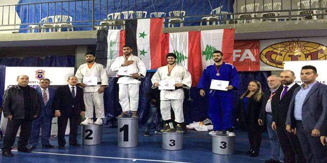 منتخب سورية الوطني للجودو يحرز ثلاث ذهبيات وفضيتين وبرونزية في دورة لبنان للرجال