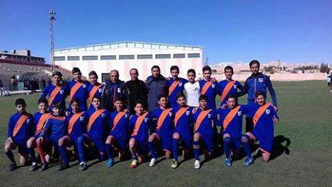 مشاركة مميزة في بطولة كرة  قدم أشبال حمص