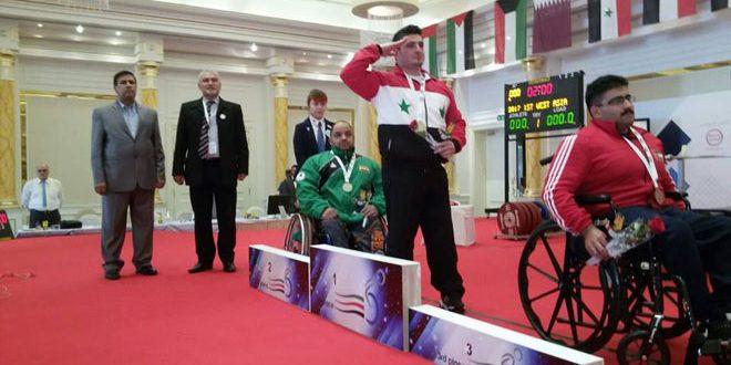 4 ميداليات لمنتخب سورية للرياضات الخاصة في دورة ألعاب غرب آسيا البارالمبية