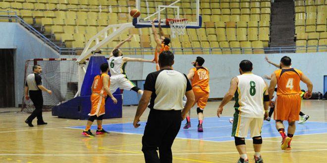 الوحدة يبلغ نهائي بطولة كأس الجمهورية بكرة السلة للرجال