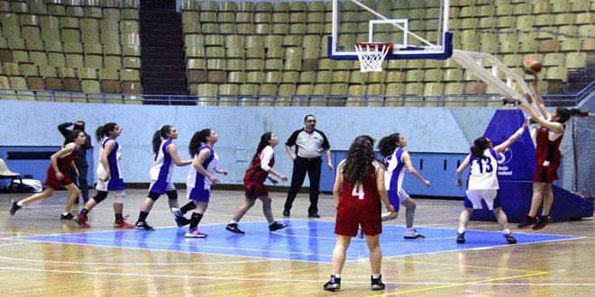 فريق الجلاء يتوج بلقب بطولة دوري كرة السلة لفئة الناشئات