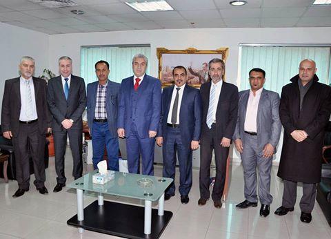 د.خياطة يبحث مع وفد عراقي بارالمبي تطوير العلاقات الرياضية بين البلدين